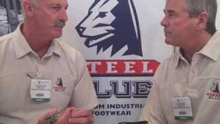 Dennis Lillee and Alan Lamb discuss the Ashes and Steel Blue Footwear