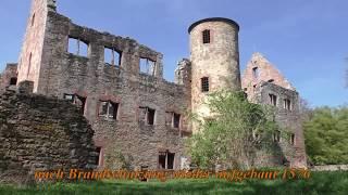 Spessart erleben, Heimat leben - Burgruine Schönrain, Gemünden-Hofstetten