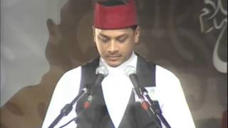 Tilawat Quran - Shawkat Hossany (Session 8 - Jalsah Salana 2012 Mauritius)