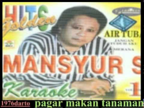 mansyur,s (pagar makan tanaman )lagu jadul thn 90an