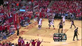 [4.20.14] Dwight Howard alley oop dunk from Jeremy Lin vs Blazers