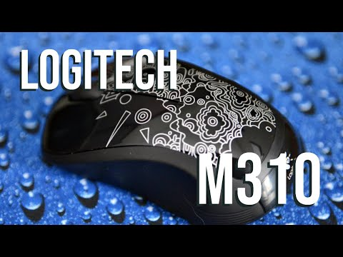 Logitech M310 Wireless Mouse Review - YouTube