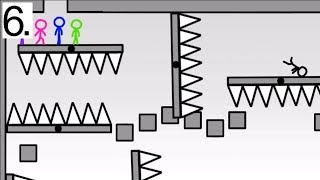 Stickman Obstacle Course 6