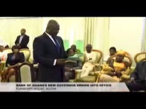 Bank Of Ghana's New Governor Sworn Into Office