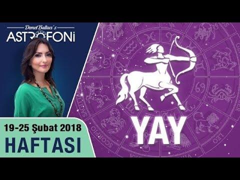 Yay burcu haftalık burç ve astroloji yorumu, 19-25 şubat 2018. Astrolog Demet Baltacı