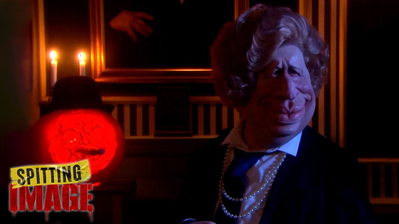 Boris has a Halloween Séance and Summons Thatcher | Spitting Image