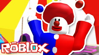 Roblox Adventures / The Circus Obby / The Clown is EVIL?!