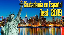 2018  Examen para la Ciudadania Americana en Español   Preguntas del nuevo examen de Ciudadania