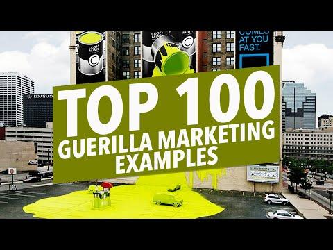 100 BEST GUERILLA MARKETING TACTICS