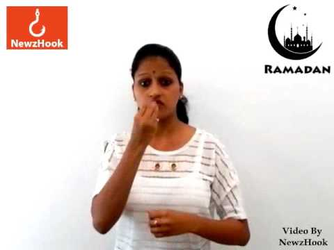 Holy month of Ramadan to start from today- Indian Sign Language ...