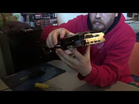 Asus R9 390X How to Disassemble/Reassemble and apply new