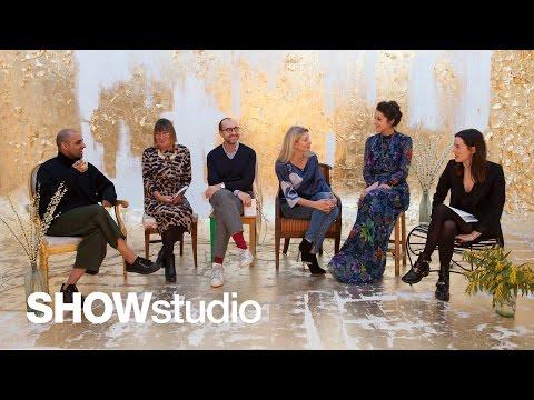 Oscar de la Renta - Autumn / Winter 2015 Panel Discussion
