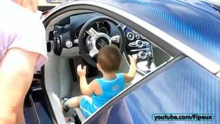 BABY Starts up his 2M€ Bugatti Veyron SuperSport.m
