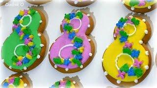 Имбирное печенье имбирные пряники на 8 марта