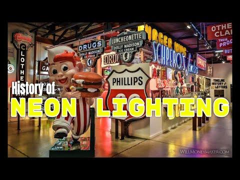 History of Neon Lighting   Genealogy Gold Podcast   AF-258