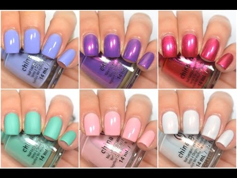 China Glaze - Seas and Greetings (Winter/Holiday 2016) | Swatch and Review