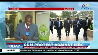 Kibra by-election: ODM meets IEBC over the release of official voter register
