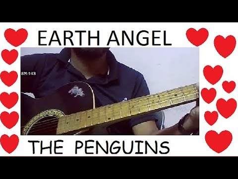 Earth angel(the penguins)guitar cover & chords lesson(without capo ...