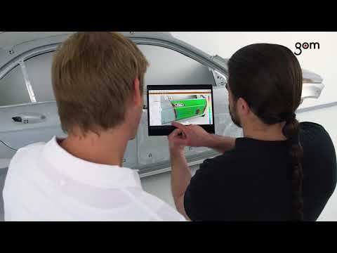 How to Use Augmented Reality in 3D Metrology - GOM Software 2018