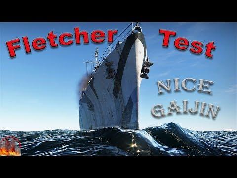 War Thunder || Fletcher And Other Surprises - Ship CBT