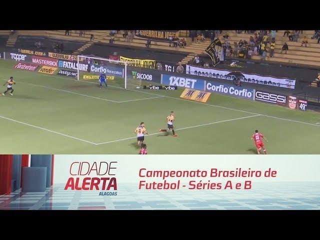 Futebol: Campeonato Brasileiro de Futebol - Séries A e B