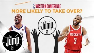 Western Conference finals 'more likely to' preview: Start beef, drop 50, dominate | The Jump | ESPN