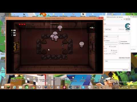 Como hackear the binding of isaac rebirth con cheat engine youtube