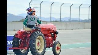 Porsche Tractor Race