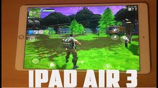 Fortnite Mobile on iPad Air 3 2019 Version (60fps)