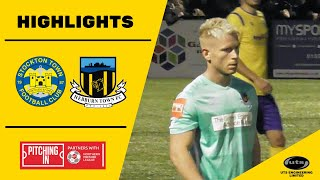 HIGHLIGHTS | Stockton Town 2-1 Hebburn Town