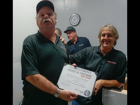 Steven Bailey CCCC Member of the Month