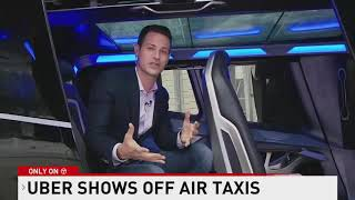 Uber unveils the new air taxi as future of aerial transportation