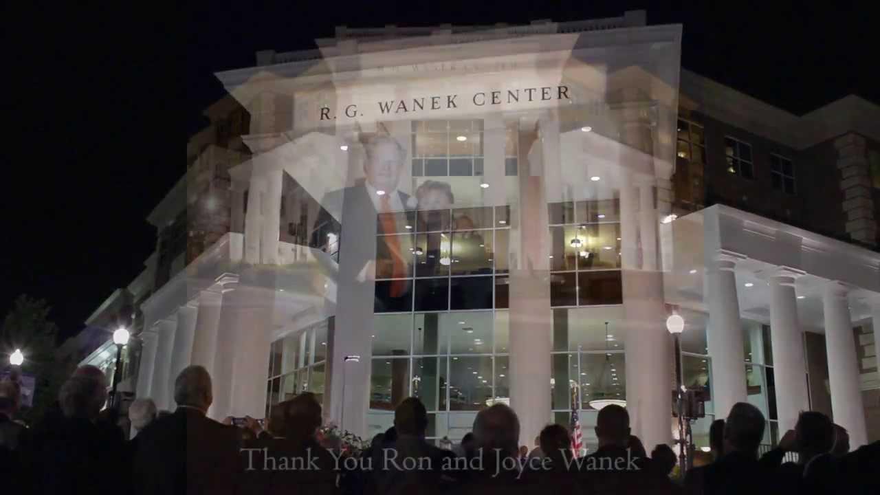 HPU Honors Ashley Furniture Founder Ron Wanek YouTube