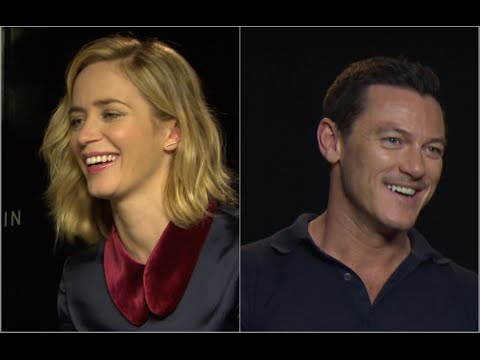 "Emily Blunt/Luke Evans: ""if you looked through my window?"" The Girl on the Train interviews"