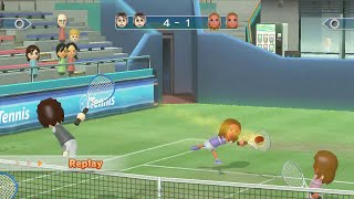 Wii Sports Club - Tennis Champions Match - The Slam Sisters (Alice & Barbara)