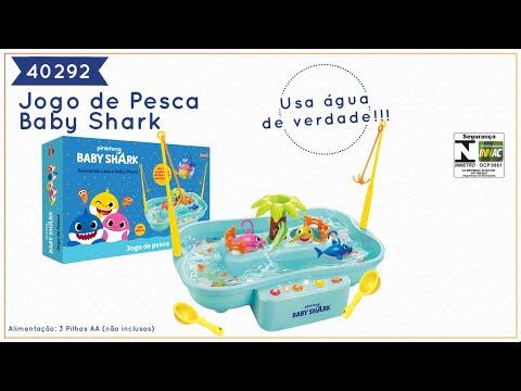 Baby Shark - Jogo de Pesca Baby Shark (REF 40292)