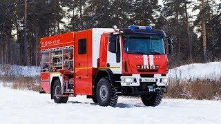 Автоцистерна пожежна АЦ 3,2-40/2 (IVECO ML150) аерозйомка