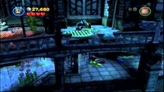 Let's Play Lego Batman 2: DC Super Heroes Wii Part 6: Water and Ice