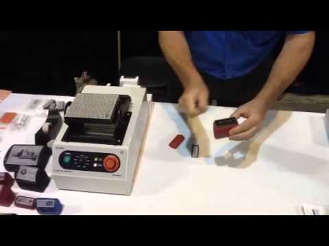 Rubber stamp making system Document Finishing/ Justbinding ...