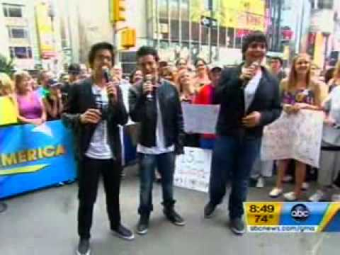 Il Volo Performs on Good Morning America
