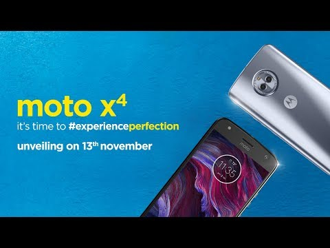 Moto X4 - Launch Event | 13th November