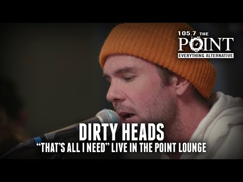 Dirty Heads - That's All I Need (acoustic) LIVE in the Point Lounge