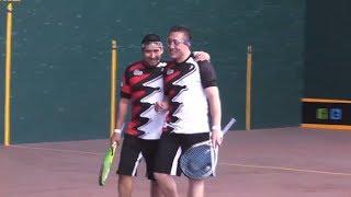 Mx Frontour - Frontenis - Semifinal dobles (Charro/Tachi vs. Chilebola/Mamey) Campo Marte 2014