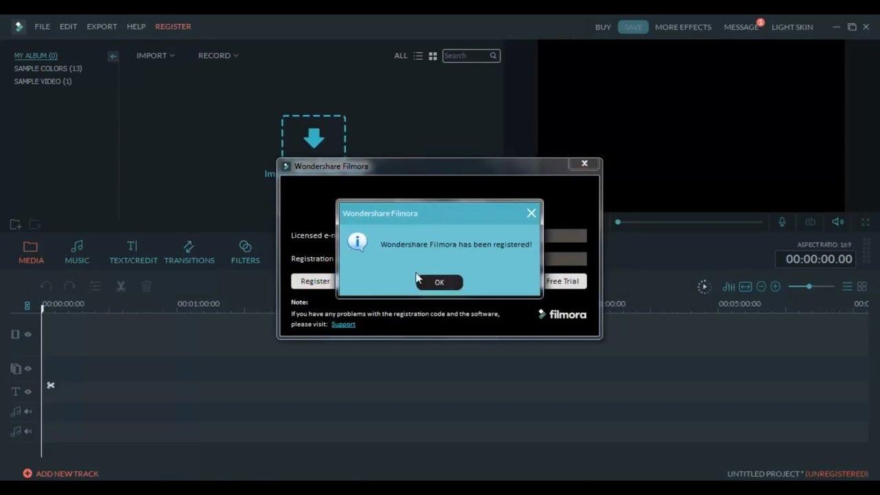 Wondershare filmora 9 license key | WonderShare Filmora 9 0