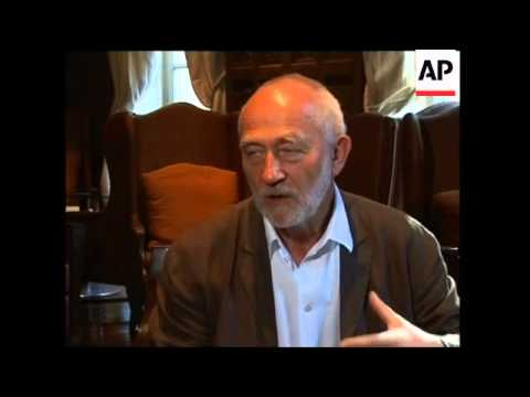 Intv with Swiss architect Peter Zumthor awarded Pritzker Prize