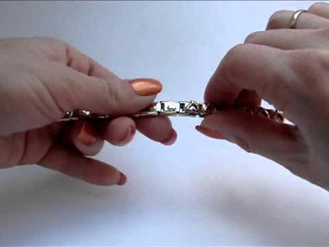 Как снять звено с браслета номинейшен