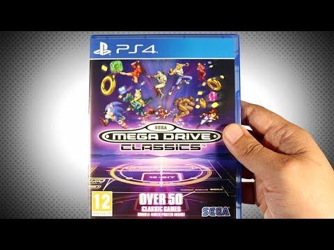Sega Mega Drive Classics (PS4) - Unboxing thumbnail