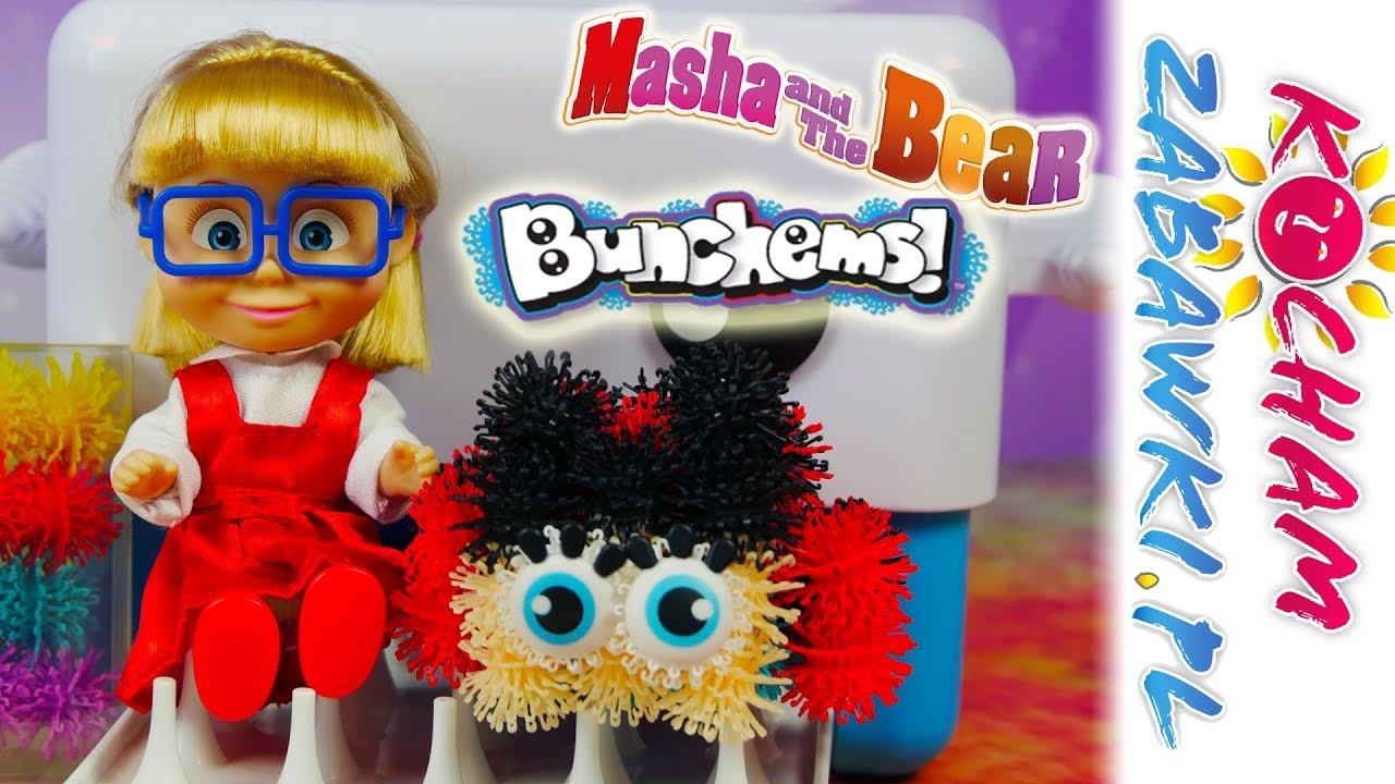 Bunchems Drukarka do Tworzenia Figurek 3D • Biedronka • Masza i Niedźwiedź • Kreatywne zabawki