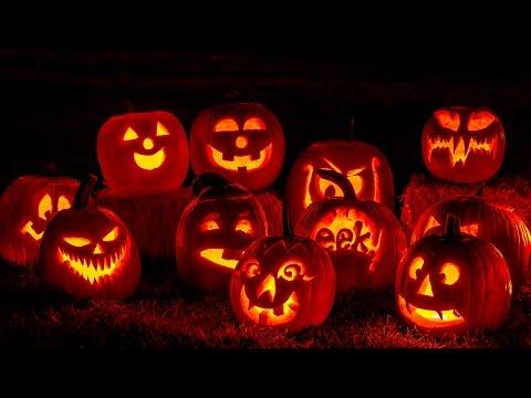 Halloween, background ambiance, Horror Nights, Jack-o'-lanterns