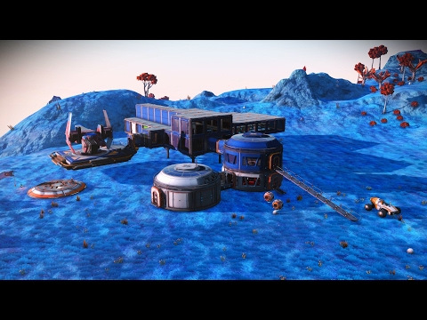 AndyKrycek's PS4 No Mans Sky 1.2. PLAYERS BASE FOUND!!